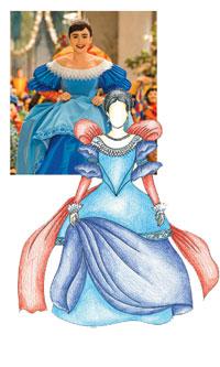 Snow White wedding dre...
