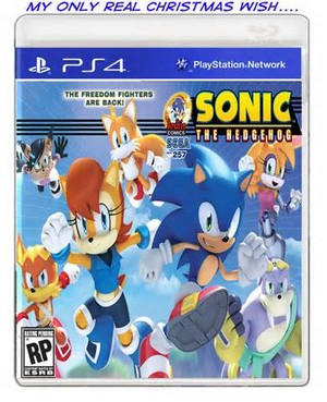 Sonic the hedgehog video game