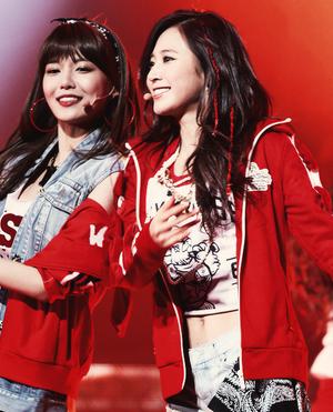 Sooyoung and Yuri