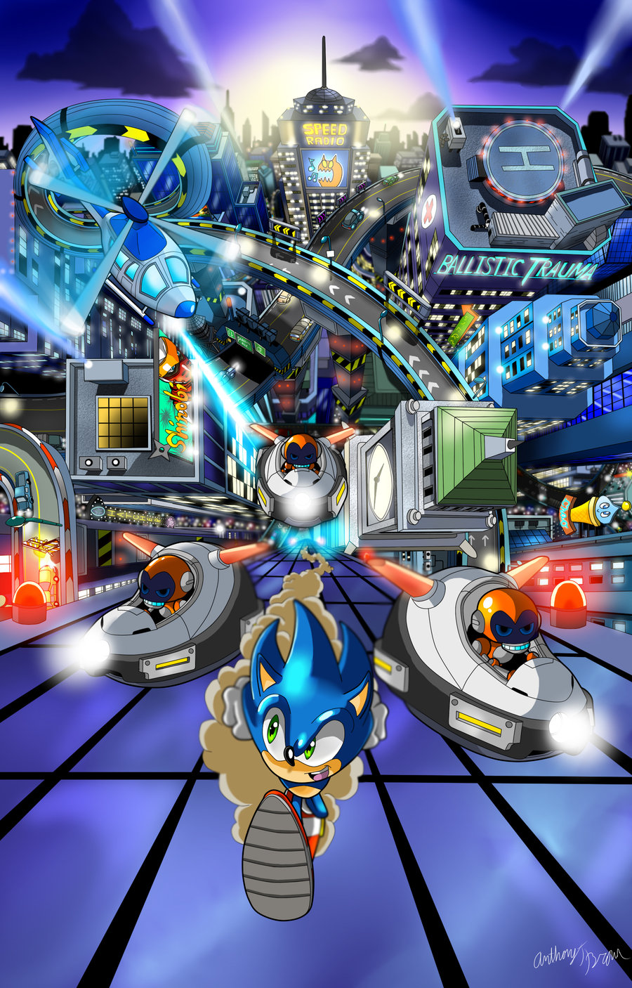 sonic adventure dx images speed highway hd wallpaper and background