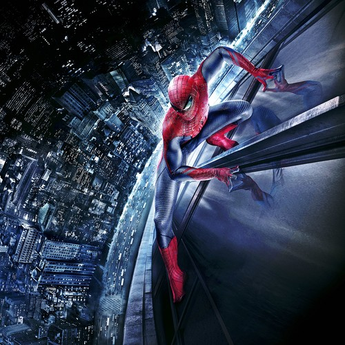 Spider-Man wallpaper possibly containing an automobile, a glory hole, and a street titled Spider-Man Posters - The Amazing Spider-Man