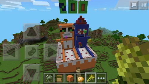 Stampylongnose Minecraft Cake World