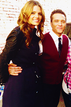 Stana and Seamus-BTS