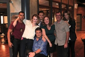 Stanathan and Castle's cast-BTS 5x5