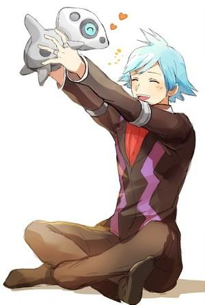 Steven loves his steel pokemon!