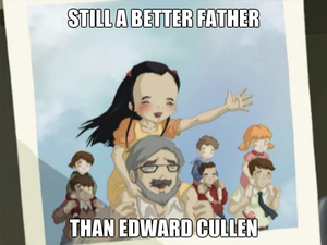 Still a better father than