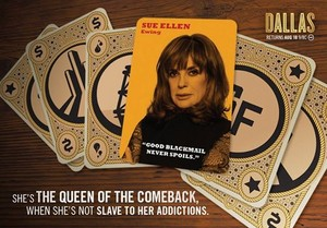 Sue Ellen Ewing | Dallas TNT Poster