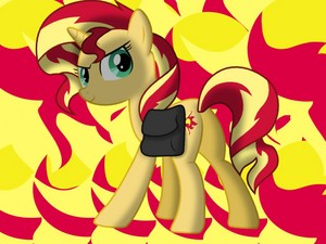 Sunset Shimmer Cutie Mark