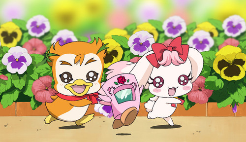 pretty cure 壁紙 called Syrup, Milk, and Mailpo
