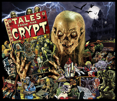 sinema ya kutisha karatasi la kupamba ukuta with anime called Tales from the Crypt