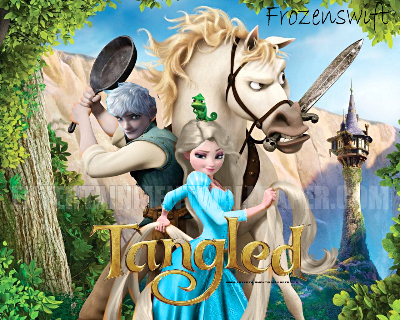 Elsa jack frost tangled jelsa version