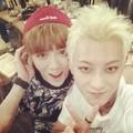 Tao 140525 Instagram Update: 鹿哥说要亮一点哈哈哈哈哈 루한형이 포토샵더해달래 - exo-m photo