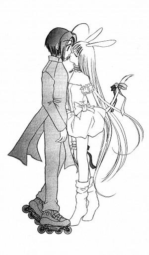 Tasuku and Berry Ciuman