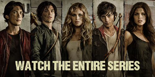 100 (Сотня) сериал Обои titled The 100 cast