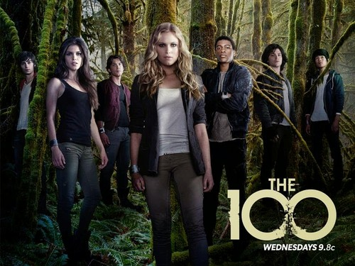 100 (Сотня) сериал Обои probably with a well dressed person and a улица, уличный titled The 100 cast
