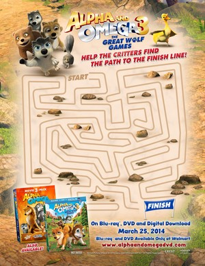The Great wolf Games maze