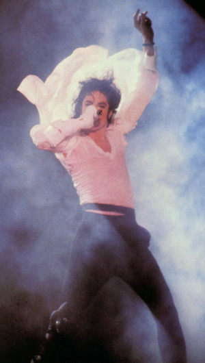 The King Of Pop - Michael Jackson, Dangerous World Tour Pics