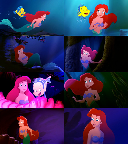 Ariel wallpaper titled The Little Mermaid