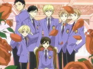 The Ouran Highschool Host Club!