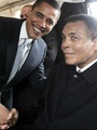 The President And Muhammad Alu - barack-obama photo