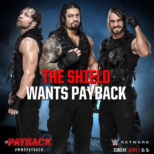 The Shield (WWE) wallpaper called The Shield wants Payback