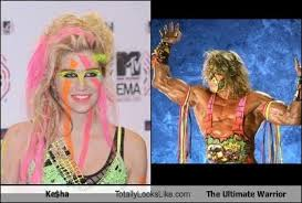 The Warrior and ke$ha Warrior