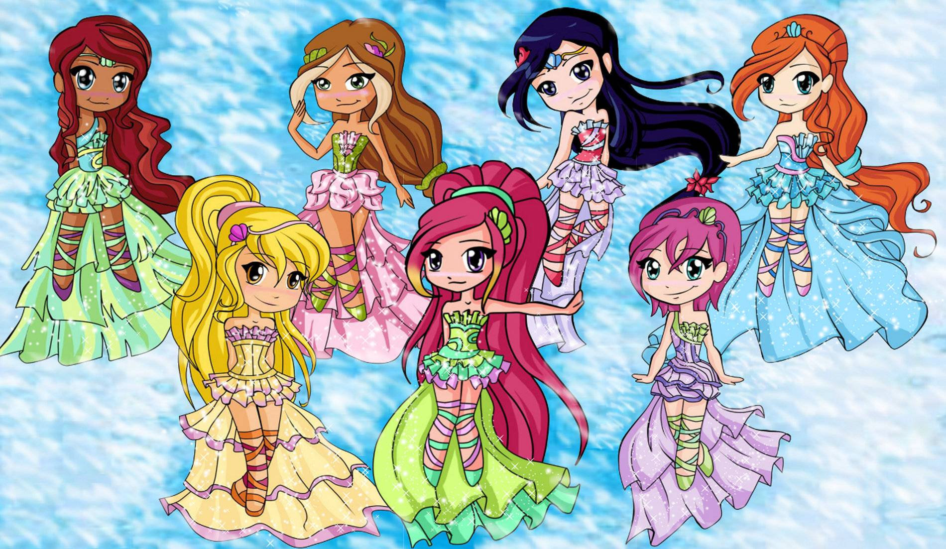 The Winx and Roxy