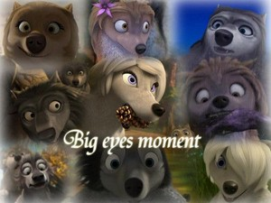 The big eyes collage