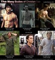 The many bodies of Christian Bale - movies fan art