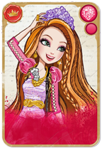 Ever After High wallpaper called The new card for