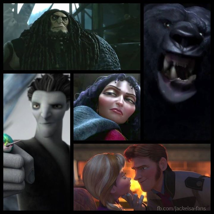 The villains of ROTBFTD