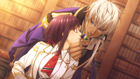 Kamigami no Asobi پیپر وال entitled Thoth and Yui