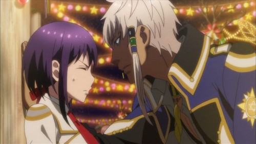 Kamigami no Asobi پیپر وال entitled Thoth and Yui
