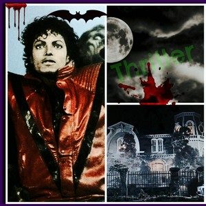 Thriller Tribute collage