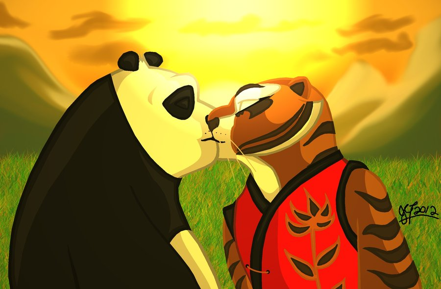 Kung Fu Panda Couples Images Tigress X Po Hd Wallpaper And