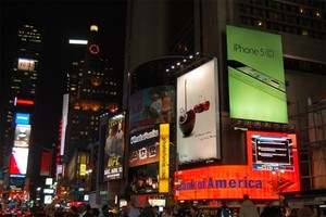 Times Square At Night 1