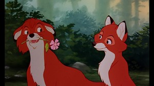 Todd, Copper, Vixey, and Big Mama - The rubah, fox And The Hound