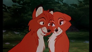 Todd, Copper, Vixey, and Big Mama - The Fox And The Hound