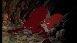 Walt Disney Screencaps - Todd & Vixey