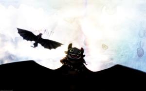 Toothless - HQ kertas dinding