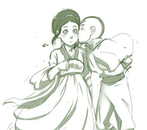 Toph and Aang