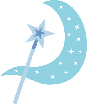 Trixie Wand and Aura Cutie Mark