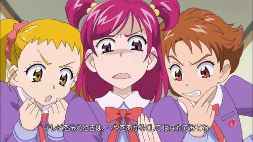 pretty cure 壁紙 with アニメ entitled Urara, Nozomi, Rin