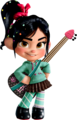 Vanellope and her गिटार
