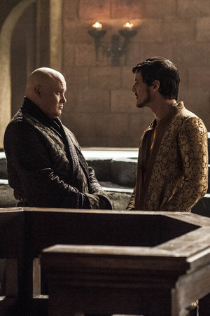 Varys and Oberyn Martell