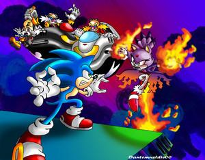 Vela Nova - Sonic Vs. Blaze