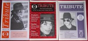 Vintage Michael Jackson 粉丝 Club Newsletters