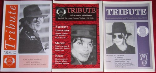 Michael Jackson wallpaper with anime entitled Vintage Michael Jackson Fan Club Newsletters