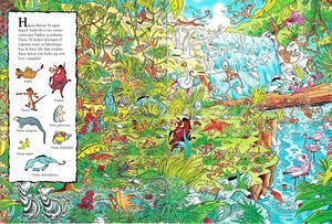 Walt Disney buku - The Lion King: Look & Find