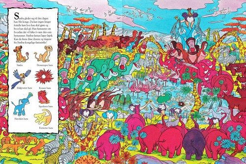 Walt Disney Characters achtergrond entitled Walt Disney boeken - The Lion King: Look & Find